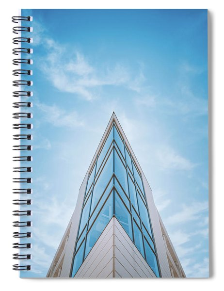 The Glass Tower On Downer Avenue Spiral Notebook