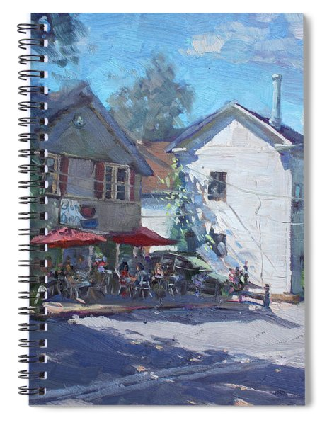 The Glen Oven Cafe Spiral Notebook