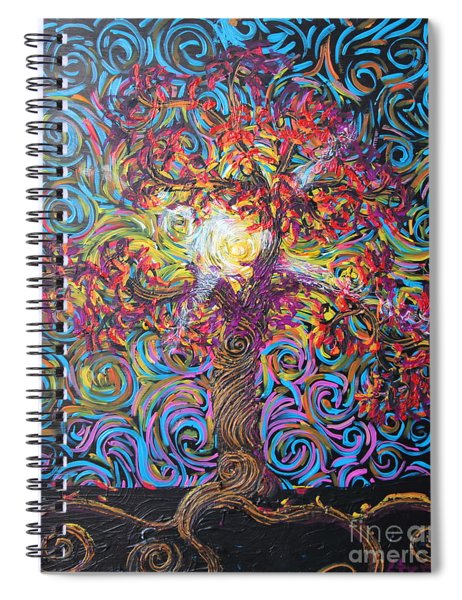 The Glow Of Love Spiral Notebook