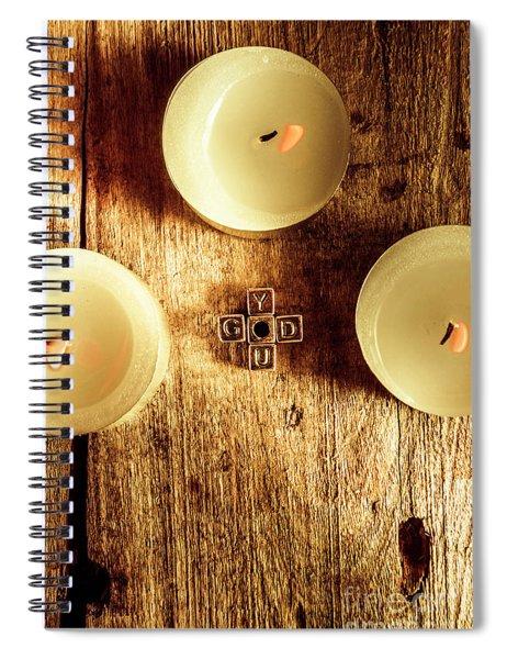 The God Complex Spiral Notebook