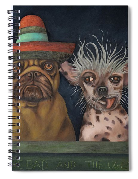 The Good,the Bad And The Ugly Spiral Notebook