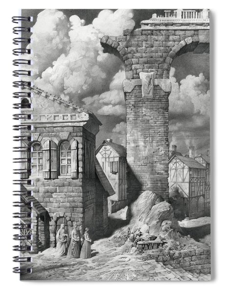 The Ghosts Of The Dark Age Spiral Notebook