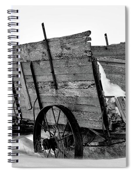The Grain Wagon Spiral Notebook