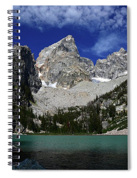 The Grand And Mount Owen From Delta Lake Spiral Notebook