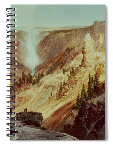 The Grand Canyon Of The Yellowstone Spiral Notebook
