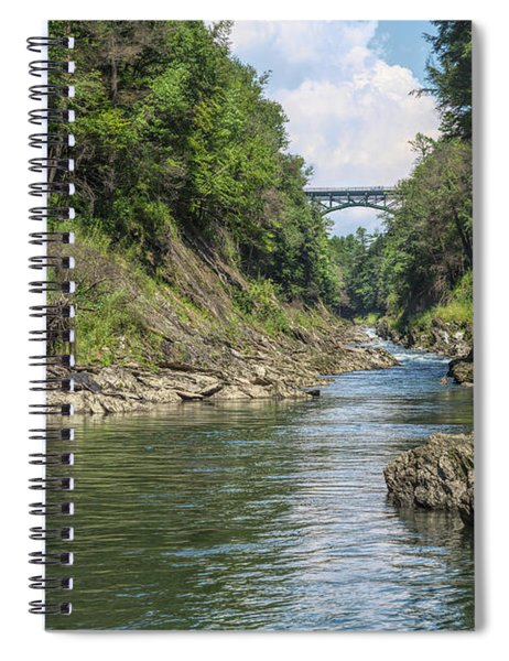 The Grand Canyon Of Vermont Spiral Notebook