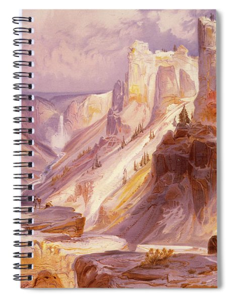 The Grand Canyon, Yellowstone Spiral Notebook