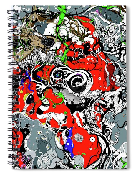The Grapevine Wall Section 1 Spiral Notebook