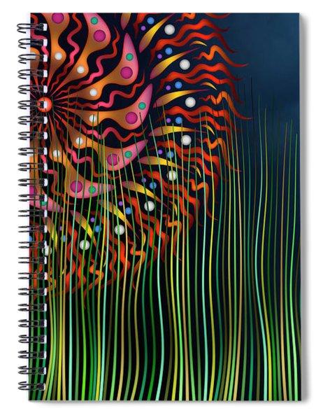 The Grass Is Always Greener Spiral Notebook