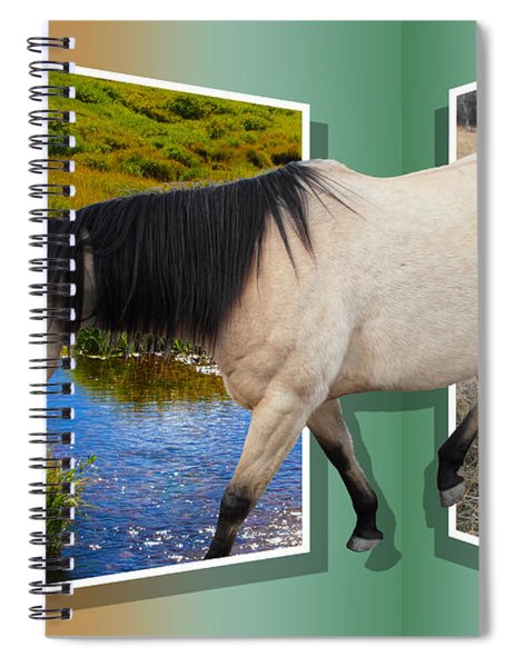 The Grass Is Always Greener On The Other Side Spiral Notebook