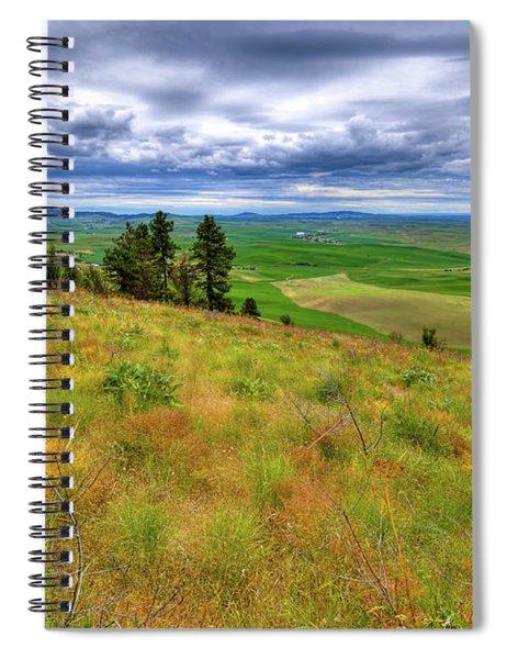 The Grasses Of Kamiak Butte Spiral Notebook