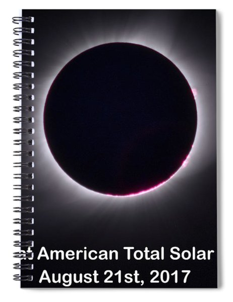 The Great American Total Ecplise T-shirt, Mug, And Notebook Spiral Notebook