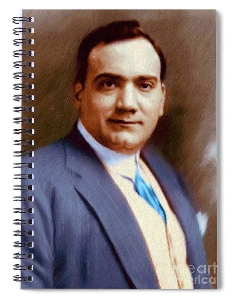 The Great Enrico Caruso Spiral Notebook