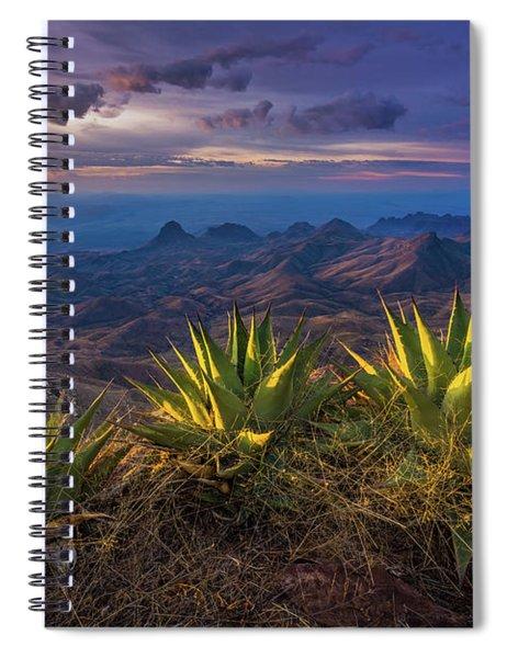 Great Wide Open Texas Spiral Notebook