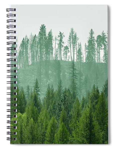 The Green And The Not So Green Spiral Notebook
