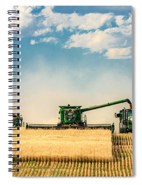 The Green Machines Spiral Notebook