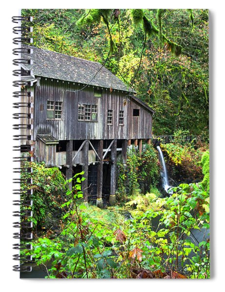 The Grist Mill, Amboy Washington Spiral Notebook