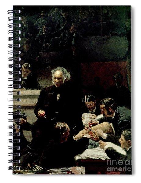 The Gross Clinic Spiral Notebook