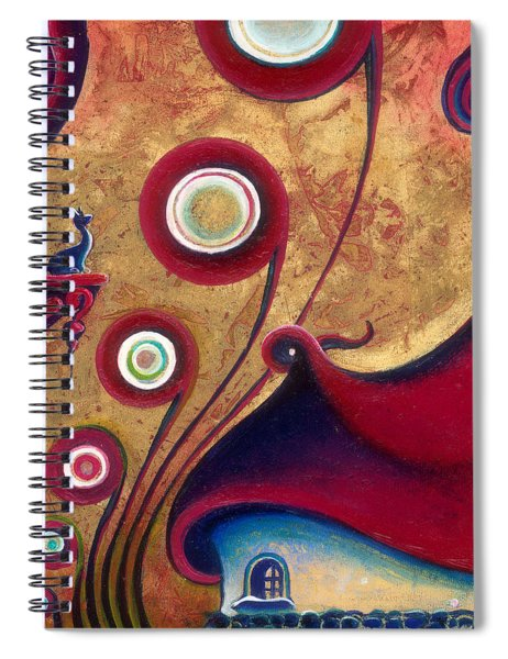 The Guardian Of Changes The Destiny Spiral Notebook