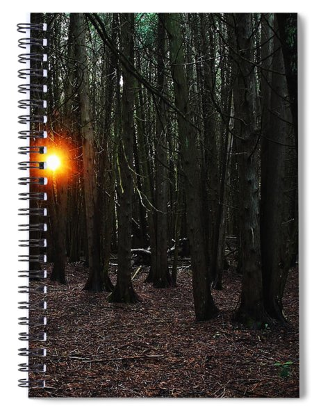 The Guiding Light Spiral Notebook