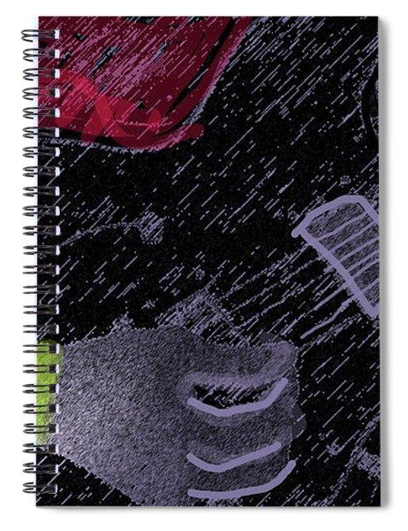 The Guitarist  Spiral Notebook