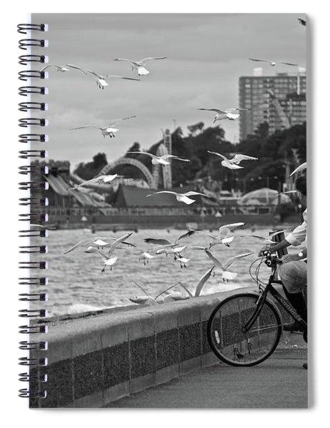 The Gull Man Spiral Notebook
