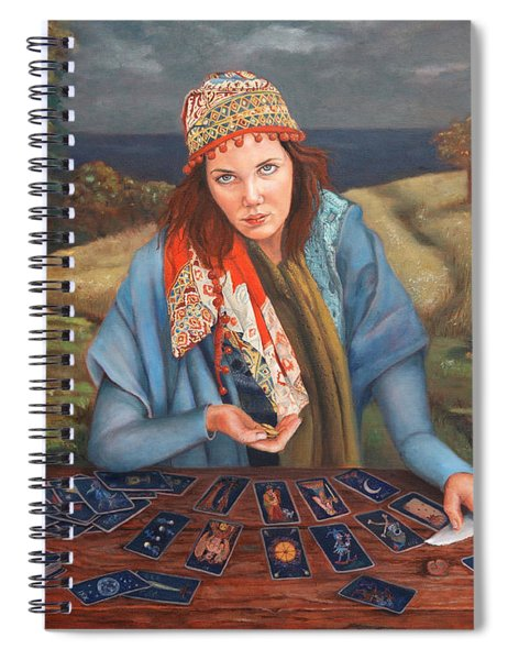 The Gypsy Fortune Teller Spiral Notebook