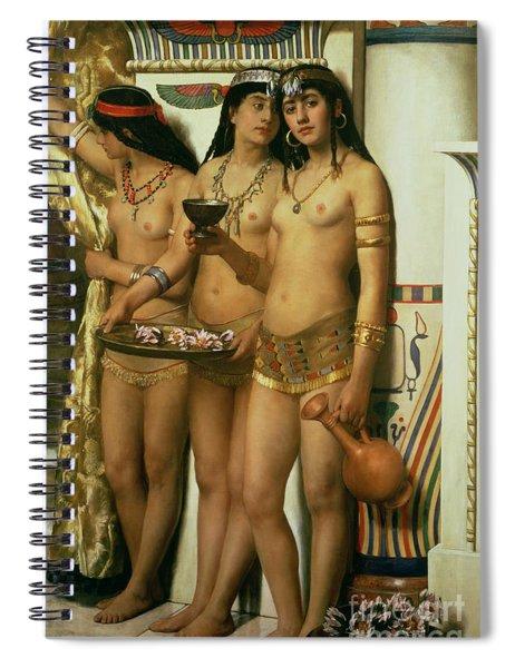 The Handmaidens Of Pharaoh Spiral Notebook