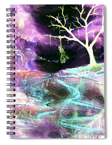 The Hanging Tree Inverted Spiral Notebook