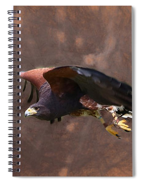 The Harris Hunter Spiral Notebook