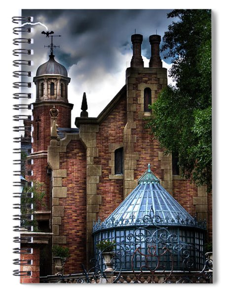 The Haunted Mansion Spiral Notebook