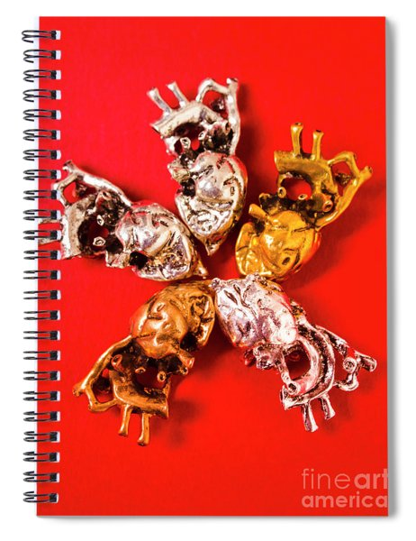 The Heart Collective Spiral Notebook
