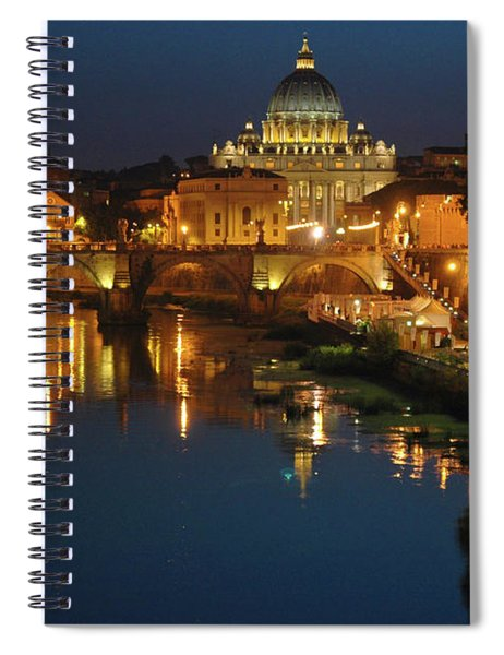 Eternal Sound Of Rome Spiral Notebook