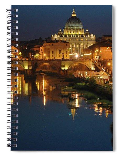 Eternal Sound Of Rome Spiral Notebook