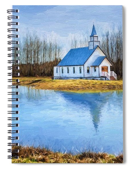 The Heart Of It All - Landscape Art Spiral Notebook