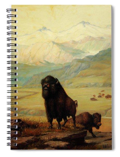 The Herd Bull Spiral Notebook