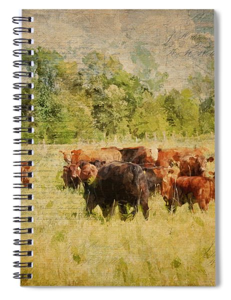 The Herd Spiral Notebook