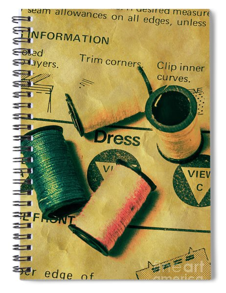 The Heritage Threading Guide Spiral Notebook