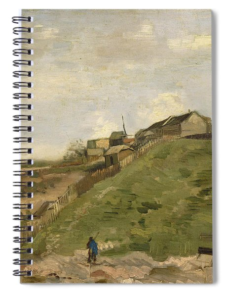 The Hill Of Montmartre With Stone Quarry Spiral Notebook
