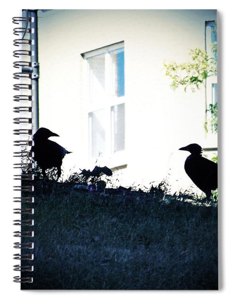 The Hitchcock Moment Spiral Notebook