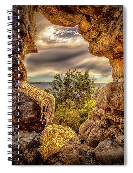 The Hole In The Wall Spiral Notebook
