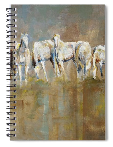 The Horizon Line Spiral Notebook