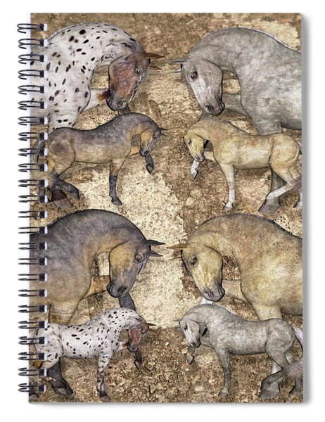 The Horse Collection Spiral Notebook