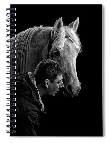 The Horse Whisperer Extraordinaire Spiral Notebook