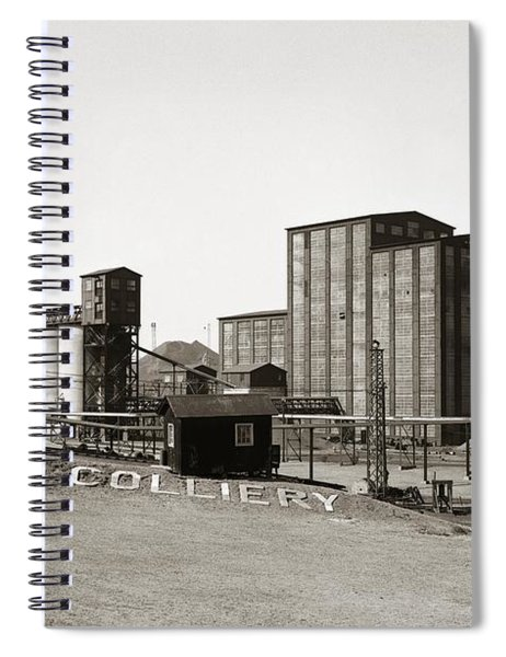 The Huber Colliery Ashley Pennsylvania 1953 Spiral Notebook