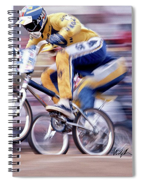The Human Dragster, Tommy Brackens 1985 Spiral Notebook