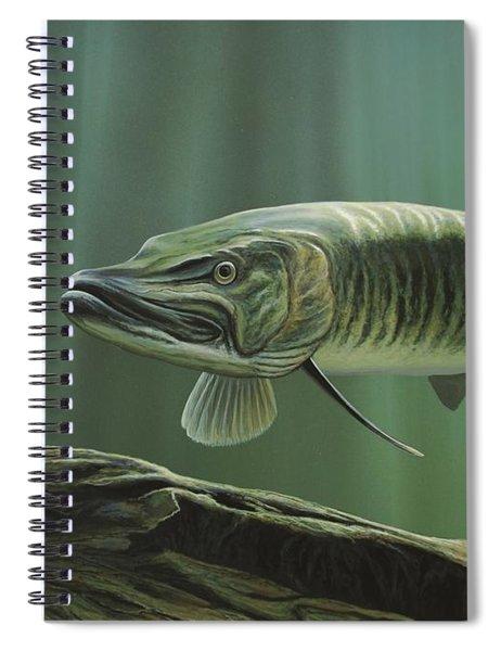 The Hunter - Musky Spiral Notebook