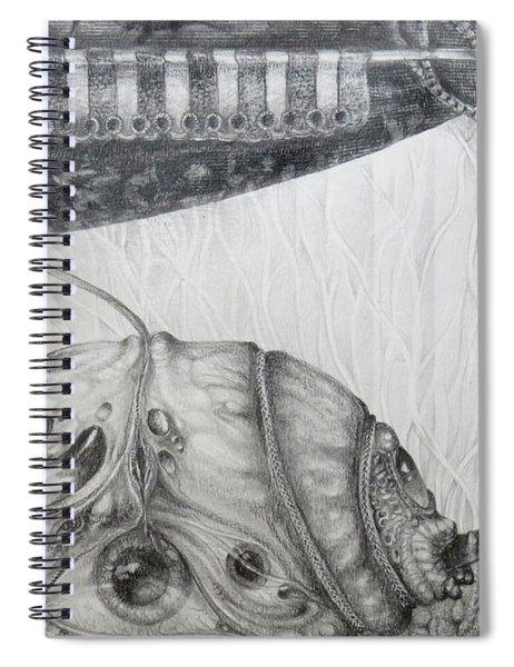 The I Scream Machine Spiral Notebook