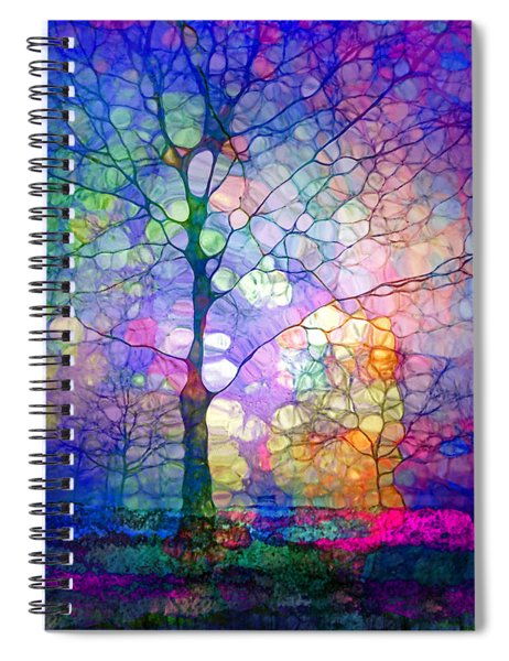 The Imagination Of Trees Spiral Notebook