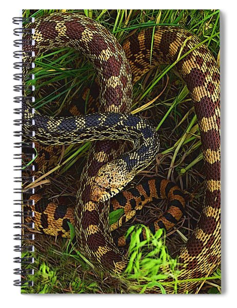 The Impersonator Spiral Notebook